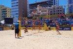 Estrelas do vôlei de praia jogam em Itapema