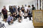 Alunos do EJA de Porto Belo conhecem a biblioteca