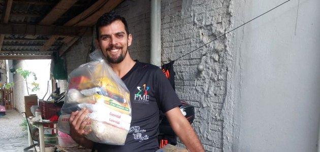 DAQUI arrecada cestas para famílias carentes